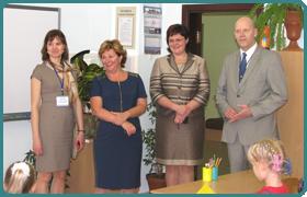 Зустріч з делегацією Естонії