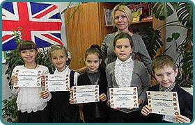 Участь учнів початкових класів у міському конкурсі з англійської мови