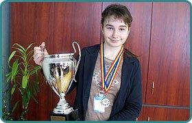 Дар'я Снігур взяла участь в чемпіонаті Європи  з великого тенісу