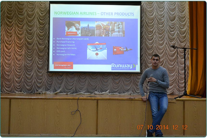 school students met with representatives of Ukrainian-Norwegian companies