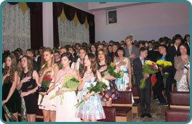 Отримання свідоцтв про базову середню освіту учнів Скандинавської гімназії