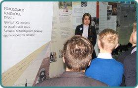 День пам'яті жертв голодоморів у Скандинавській гімназії