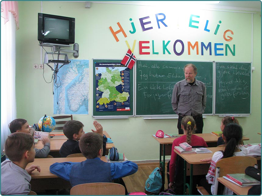 Teacher Norwegian Eldar Totlend