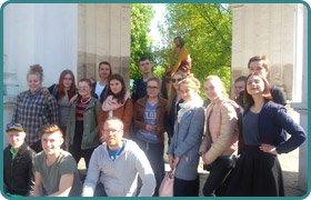Зустріч гостей із фінського містечка Рейсьярве у Скандинавській гімназії