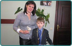 Roman Fedyurko - little virtuoso pianist, a student of 5th class D Scandinavian Gymnasium