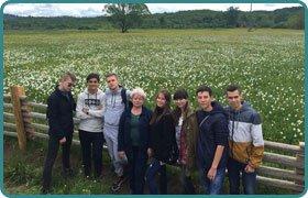 Подорож до Закарпаття учнів Скандинавської гімназії