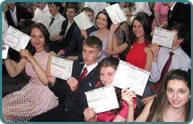 Урочистий випуск учнів 9-х класів Скандинавської гімназії