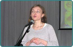 Meeting with Anastasia Dmitruk