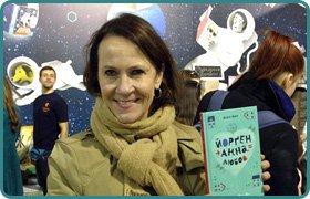 Meeting with Norwegian writer