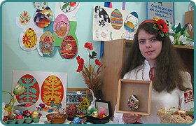 The master class on painting Easter eggs