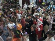 Новорічні свята у гімназії