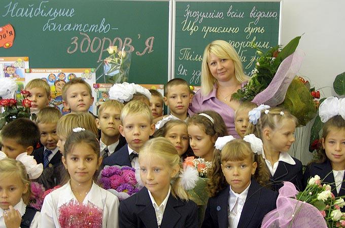 Знаєнко Галина Юріївна вчитель початкових класів
