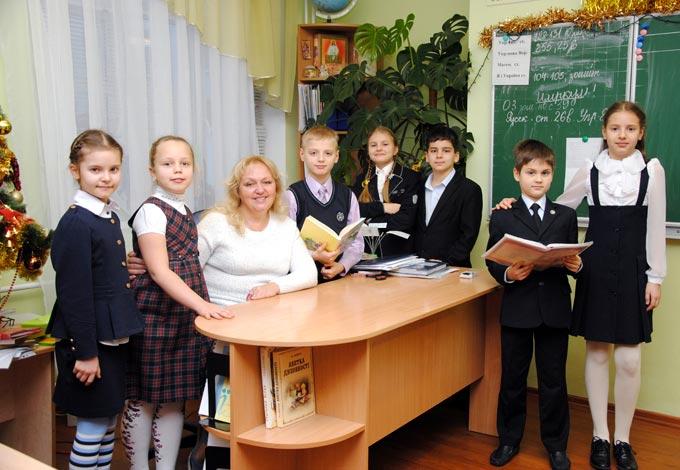 Стеценко Тетяна Юріївна з учнями